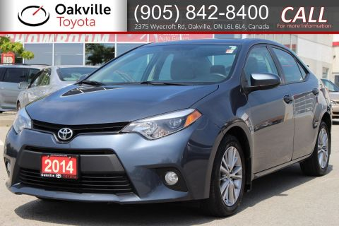 Pre-Owned 2014 Toyota Corolla LE with One Owner