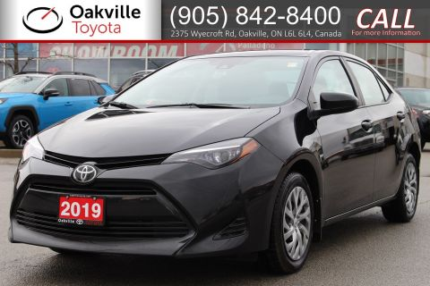 Certified Pre-Owned 2019 Toyota Corolla LE with Clean Carfax