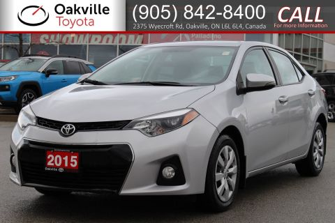 Pre-Owned 2015 Toyota Corolla CE with Clean Carfax