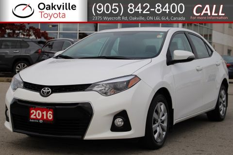 Pre-Owned 2016 Toyota Corolla S with One Owner
