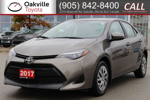 Pre-Owned 2017 Toyota Corolla LE with Clean Carfax and One Owner | SELF CERTIFY