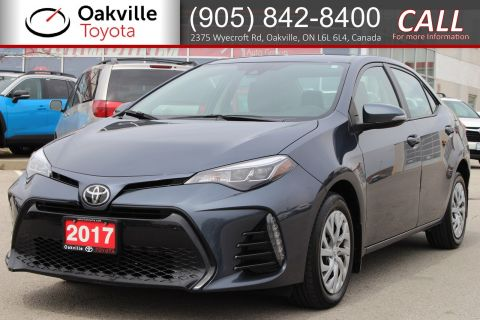 Certified Pre-Owned 2017 Toyota Corolla SE with Clean Carfax and Single Owner FWD 4dr Car