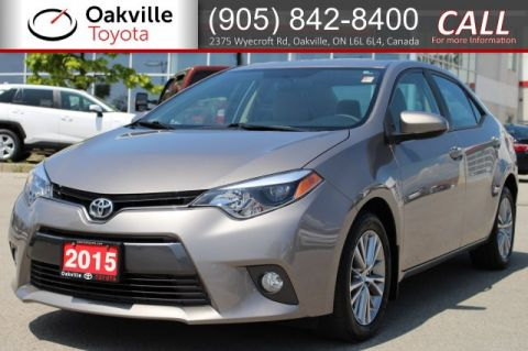 Pre-Owned 2015 Toyota Corolla LE with One Owner