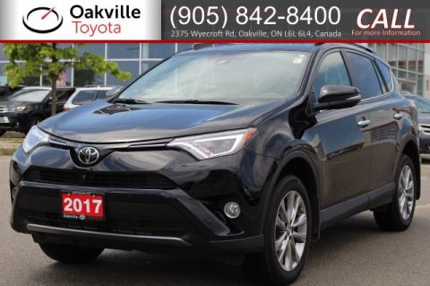 Pre-Owned 2017 Toyota RAV4 Limited AWD with Clean Carfax