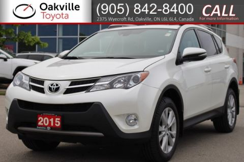 Certified Pre-Owned 2015 Toyota RAV4 Limited with One Owner