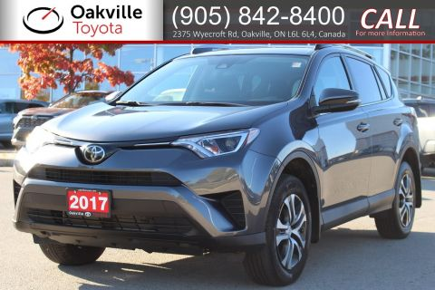 Pre-Owned 2017 Toyota RAV4 LE with Clean Carfax and One Owner