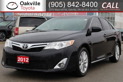 Pre-Owned 2012 Toyota Camry XLE with Clean Carfax