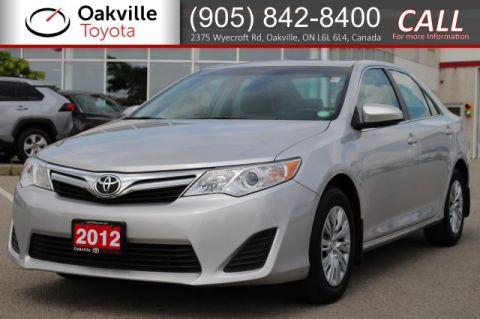 Pre-Owned 2012 Toyota Camry LE with Clean Carfax and One Owner