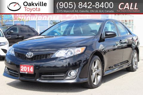Certified Pre-Owned 2014 Toyota Camry SE with Clean Carfax and One Owner