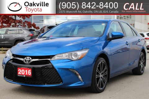 Certified Pre-Owned 2016 Toyota Camry SE with Clean Carfax and One Owner