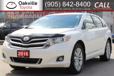 Certified Pre-Owned 2016 Toyota Venza LE with Hood Deflector, Clean Carfax and Single Owner