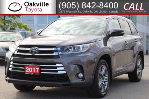 Pre-Owned 2017 Toyota Highlander Limited AWD with Clean Carfax