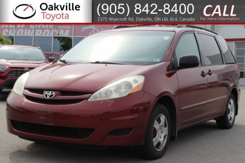 Pre-Owned 2006 Toyota Sienna CE 8-Passenger with Clean Carfax | SELF CERTIFY