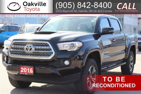 Pre-Owned 2016 Toyota Tacoma TRD Sport with Clean Carfax and Single Owner