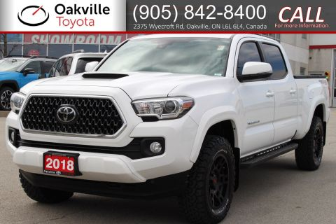Certified Pre-Owned 2018 Toyota Tacoma SR5 with Clean Carfax and Single Owner