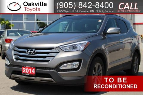 Pre-Owned 2014 Hyundai Santa Fe Sport Luxury AWD with One Owner