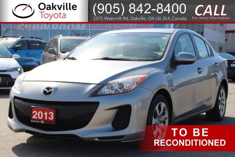 Pre-Owned 2013 Mazda3 GX FWD 4dr Car