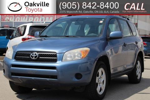 Pre-Owned 2007 Toyota RAV4 Base with Clean Carfax