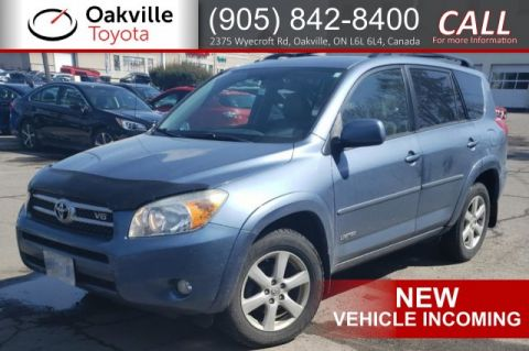Pre-Owned 2007 Toyota RAV4 Limited with Single Owner