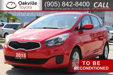 Pre-Owned 2015 Kia Rondo LX 6-Speed with One Owner and Clean Carfax