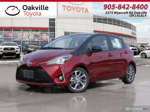 New 2018 Toyota Yaris Hatchback SE